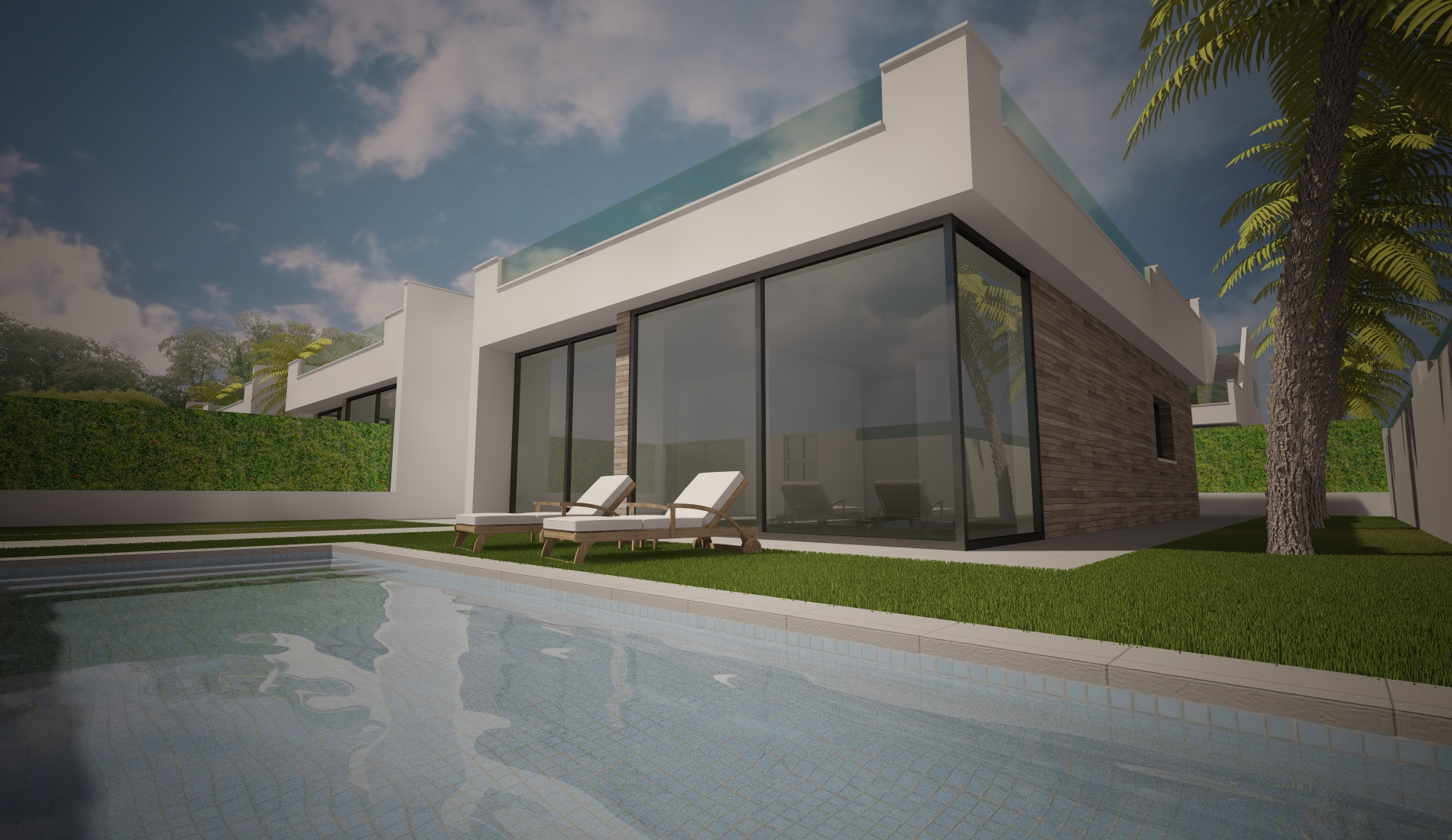 With a six month build time, these beautiful modern villa´s are located within walking distance, Spain