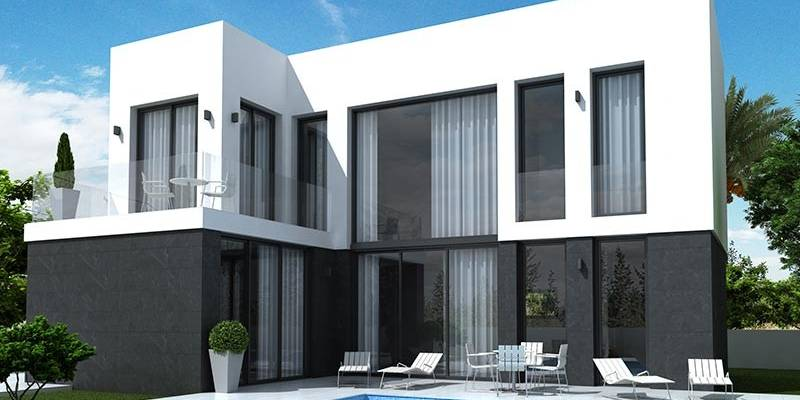 New build villa´s in La Marina