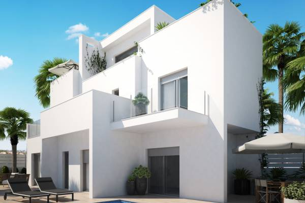 Villa - New Build - Torrevieja - La Rosaleda